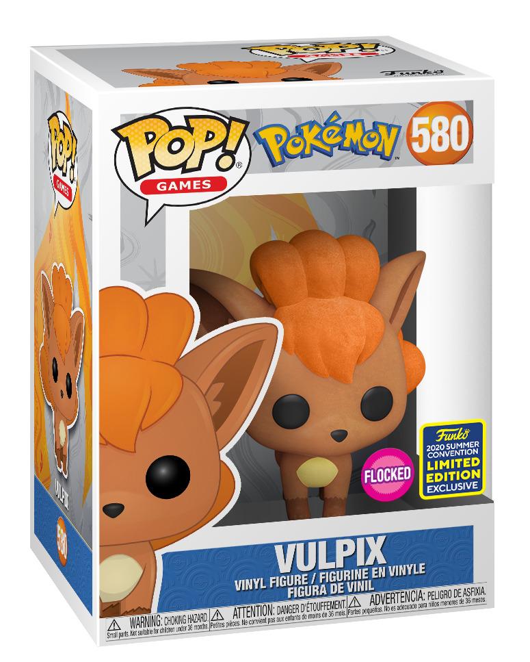 Pokemon: Vulpix (Flocked) - Pop! Vinyl Figure image