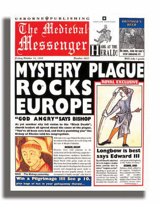 Newspaper Histories The Medieval Messenger by Paul Dowswell image