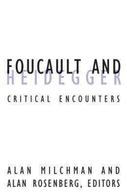 Foucault And Heidegger by Alan Milchman image