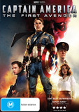Captain America - The First Avenger on DVD