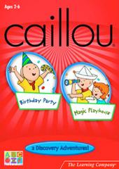 Caillou Discovery Adventures 2 Pack for PC Games