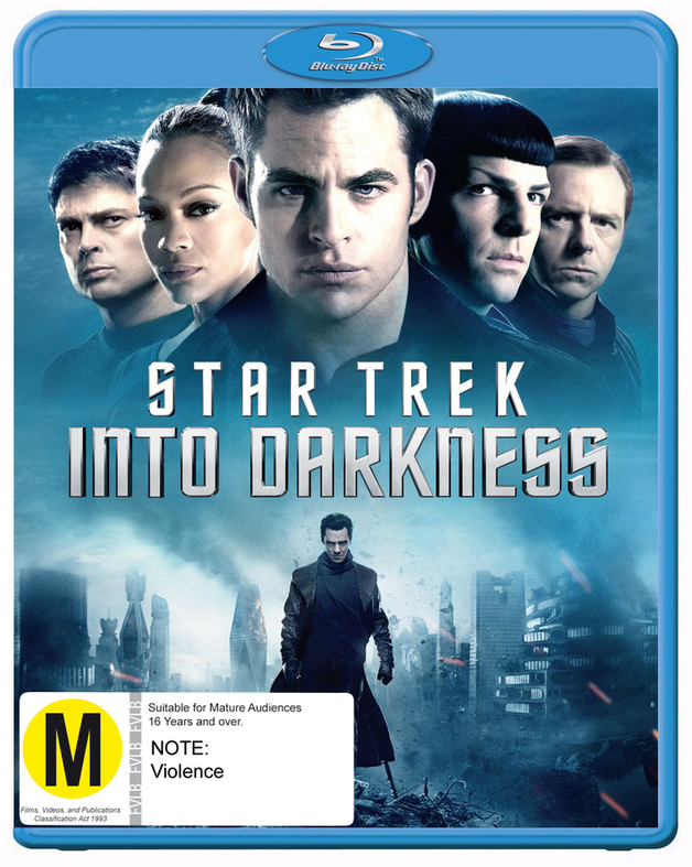 Star Trek: Into Darkness on Blu-ray