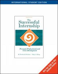 The Successful Internship by H. Sweitzer image