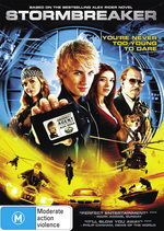Stormbreaker on DVD