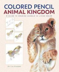 Colored Pencil Animal Kingdom by Xiaone Liu image