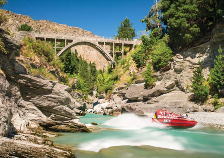 Holdson: Explore New Zealand: Series 2 - Shotover Canyon - 100 Piece Puzzle image