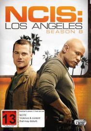 NCIS: Los Angeles: The Eighth Season on DVD