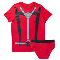 Marvel Deadpool Mens Underoo Set - Large