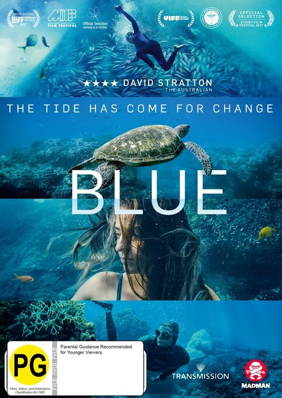 Blue on DVD