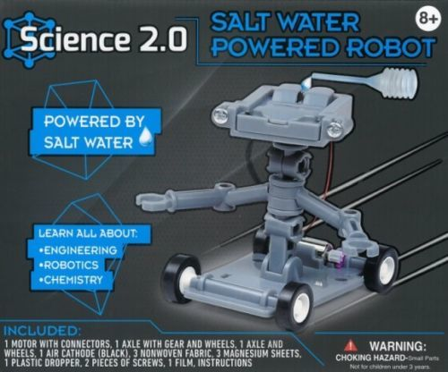 Science 2.0: Salt Water Powered Robot - Science Kit