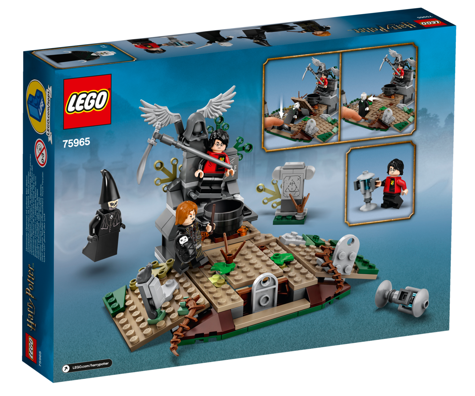 LEGO: Harry Potter - The Rise of Voldemort (75965) image