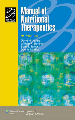 Manual of Nutritional Therapeutics by David H. Alpers image