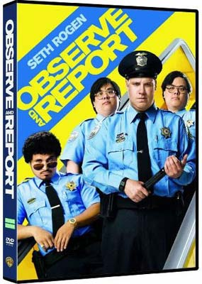 Observe and Report on DVD image