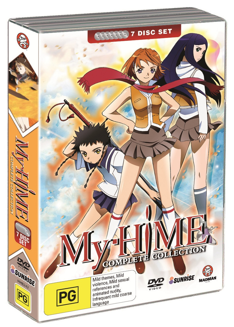 My-HiME - Complete Collection (7 Disc Fatpack) on DVD image
