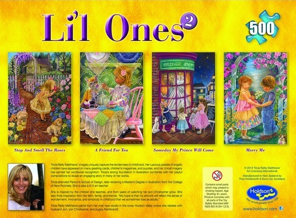 L'il Ones 500 Piece Jigsaw Puzzle - Someday My Prince Will Come image