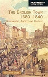 The English Town, 1680-1840 by Rosemary Sweet image