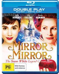 Mirror Mirror Blu-ray/Digital Copy on Blu-ray, DC