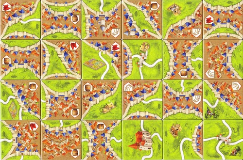 Carcassonne: Traders and Builders - 2nd Edition image