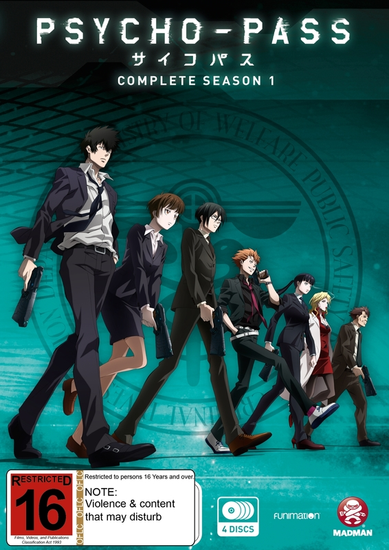 Psycho Pass Season 1 Dvd In Stock Buy Now At Mighty Ape Nz
