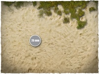 DeepCut Studio Beach PVC Mat (6x4) image