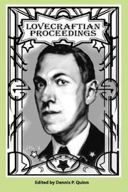 Lovecraftian Proceedings No. 2 by Connor Pitetti