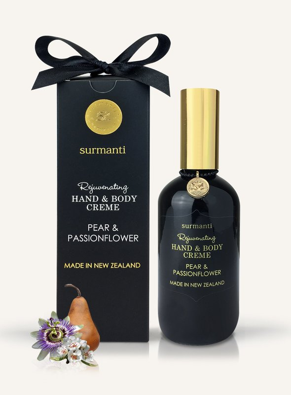 Surmanti Hand + Body Creme - Pear & Passionflower (120ml)