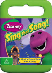 Barney - Sing That Song! on DVD