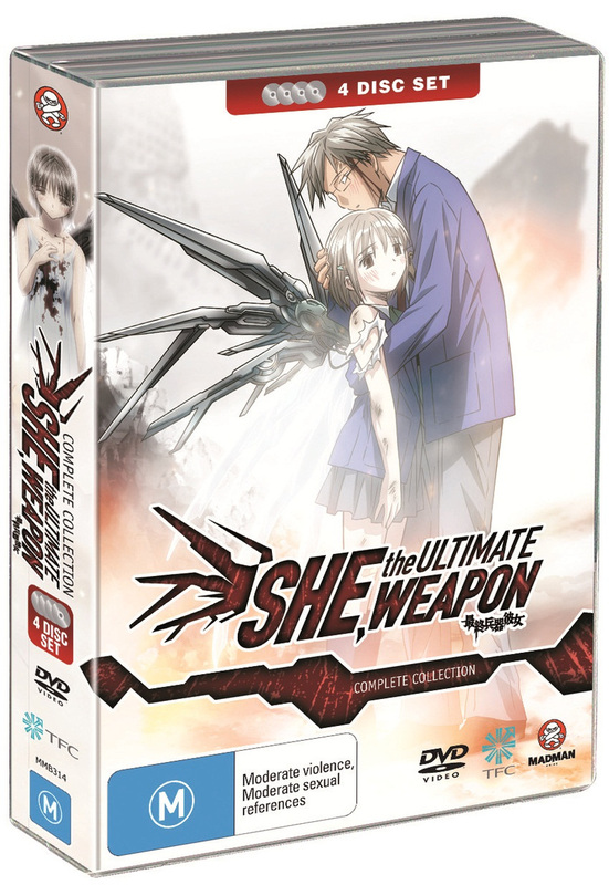 She, The Ultimate Weapon - Collection (4 Disc Fatpack) on DVD