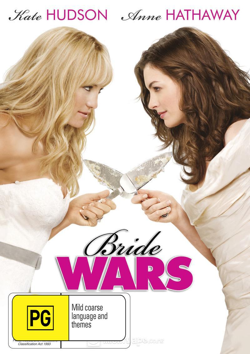 Bride Wars on DVD image