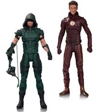 The Flash & Arrow TV - Action Figure 2-Pack