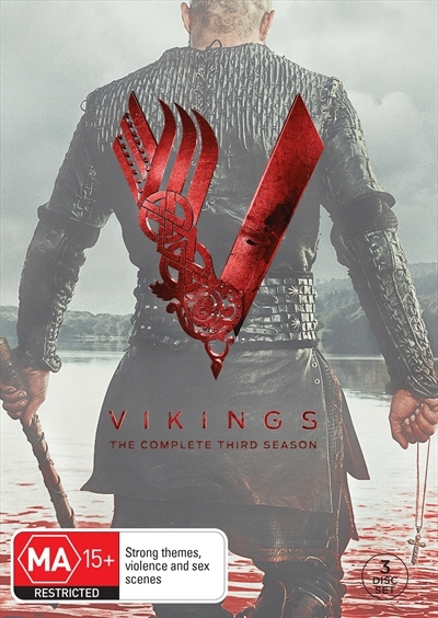 Vikings - The Complete Third Season on DVD image