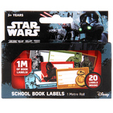 Star Wars School Book Labels