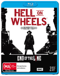Hell on Wheels: Season Five - Part 2 on Blu-ray