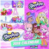 Shopkins 2018 Square Wall Calendar