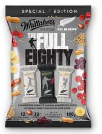 Whittakers: The Full Eighty Milk Chocolate Mini Slab (12pk)