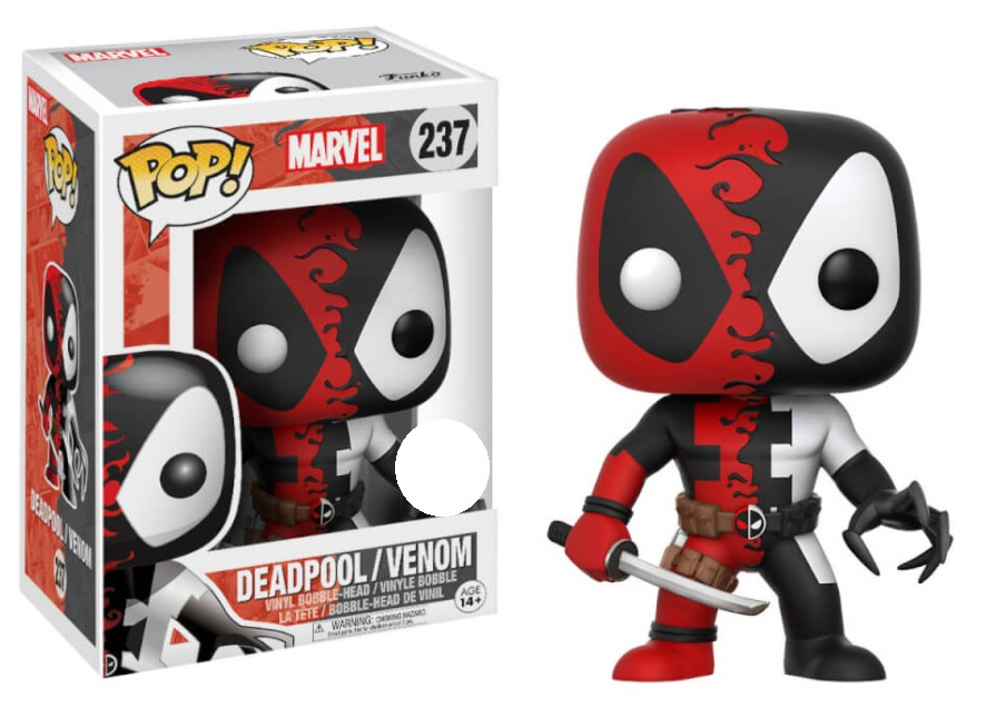 Marvel: Deadpool/Venom - Pop! Vinyl Figure image
