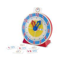 Melissa & Doug: Turn and Tell Wooden Clock