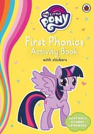 My Little Pony First Phonics Activity Book by Ladybird