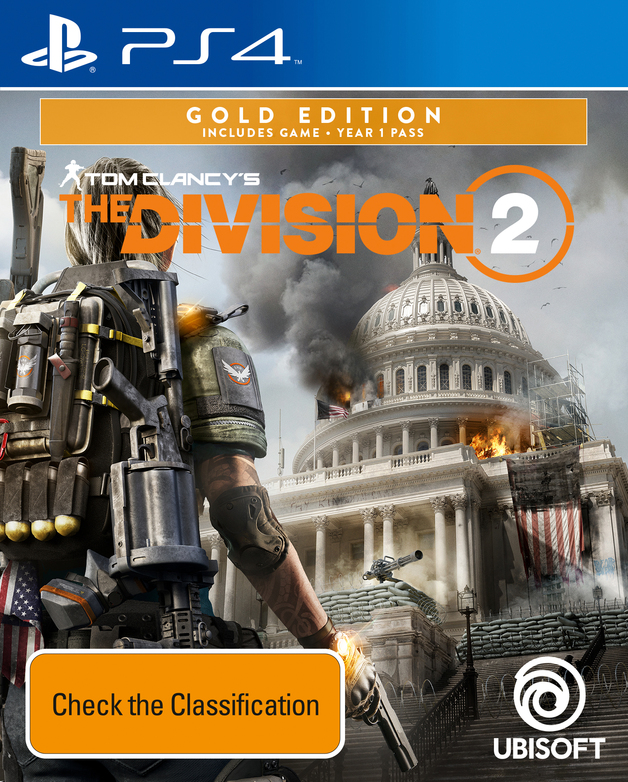 Tom Clancy's The Division 2 Gold Edition for PS4