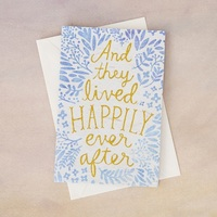 Natural Life: Greeting Card - Happily Ever After