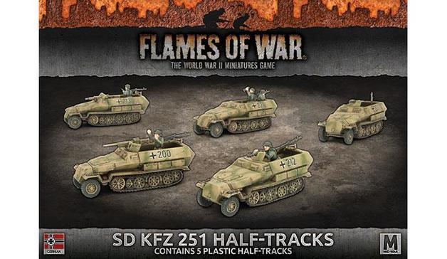 Flames of War: Sd Kfz 251 Transport (x5)