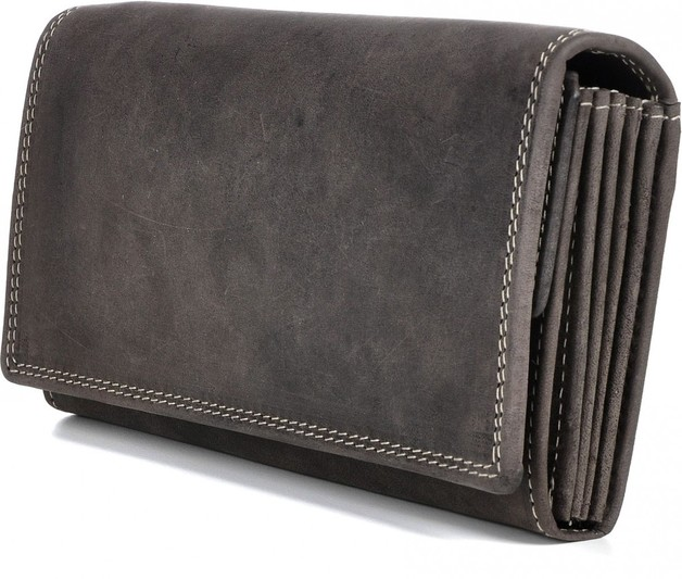 Urban Forest: Charlene Leather Wallet - Taupe