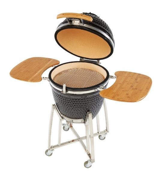 Charmate Kamado Ceramic Charcoal BBQ Grill