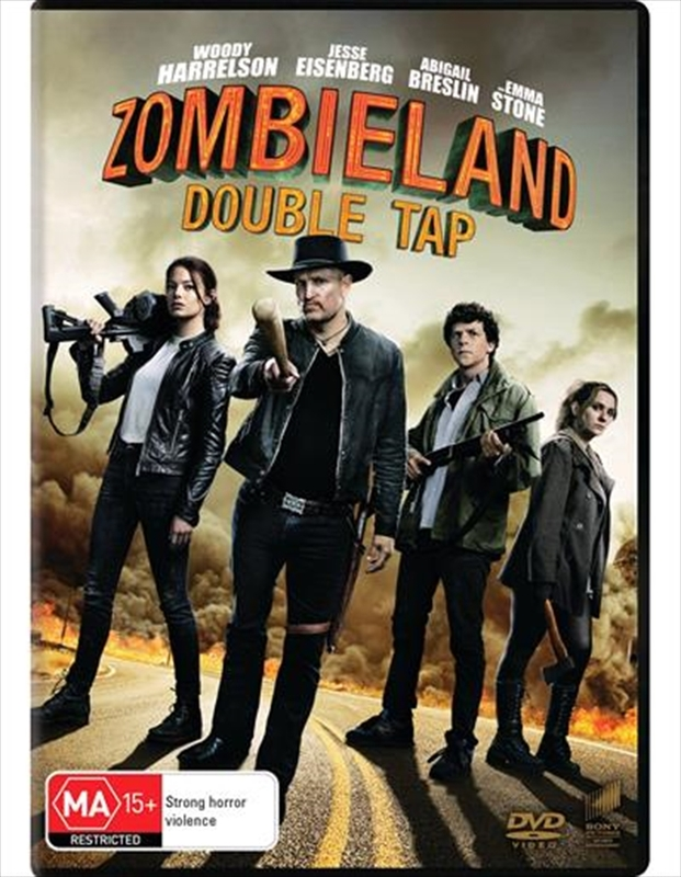 Zombieland: Double Tap on DVD