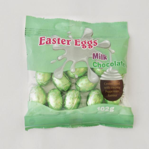 Easter Creme Eggs Peppermint 102g 30pk