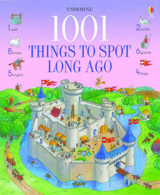 1001 Things to Spot Long Ago by Gillian Doherty image