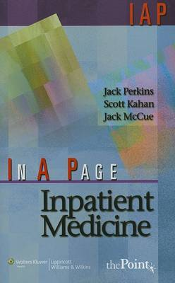 In A Page Inpatient Medicine by Jack Perkins image