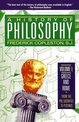 A History of Philosophy: v. 1 by Frederick C Copleston image