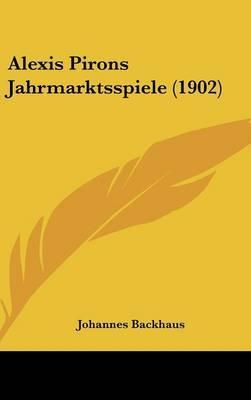 Alexis Pirons Jahrmarktsspiele (1902) by Johannes Backhaus image
