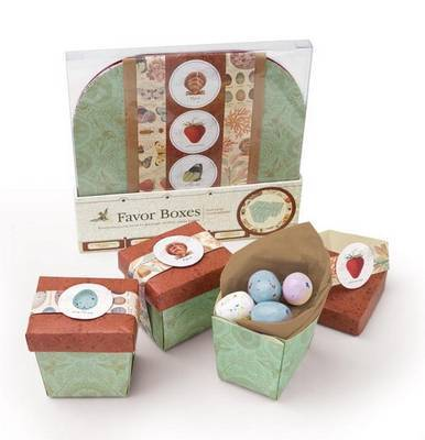 Natural Curiosities Favor Boxes: Everything You Need to Package Perfect Party Treats by Potter Style
